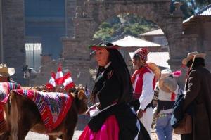 Taquile celebration