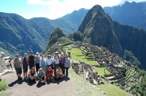 Group at Machu Picchu