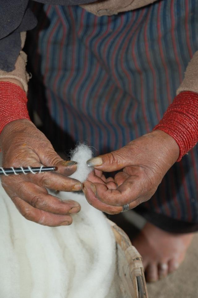 Spinning string