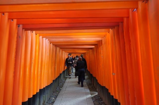 fushimi inari shrine gates