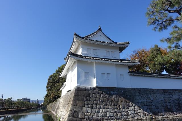 nijo castle - guard tower