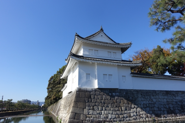 nijo castle - guard tower