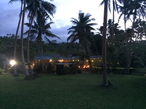 marabou lodge at night