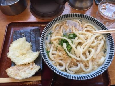 udon and tempura