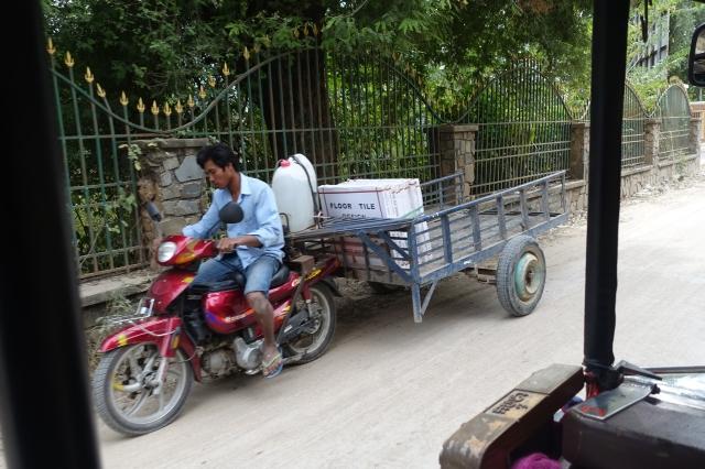 motorbike + trailer