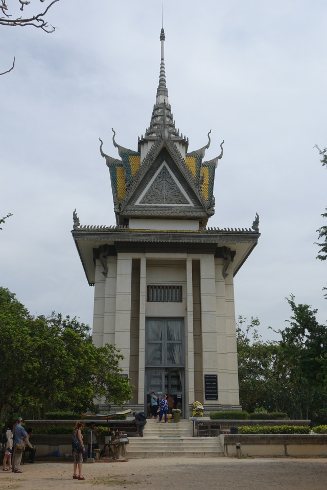 choeung ek genocidal center memorial