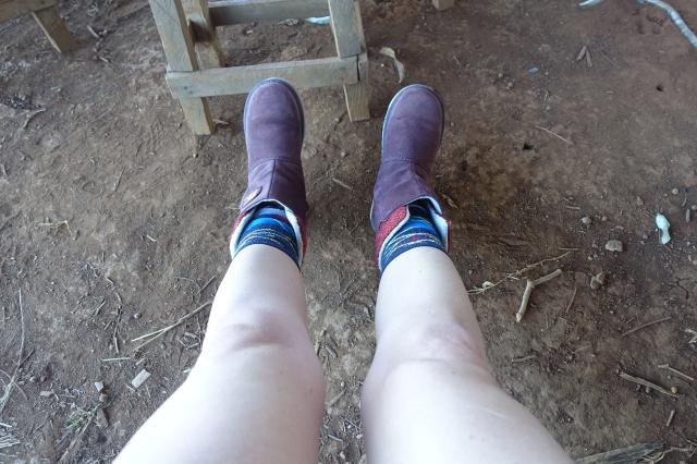 my not flip-flop shoes
