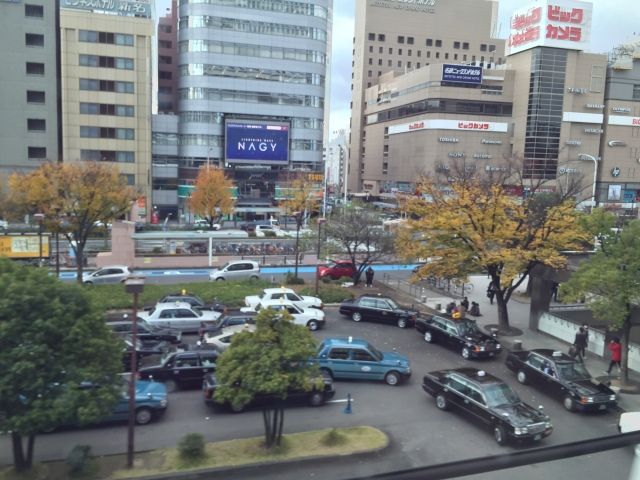 nagoya from the bullet train