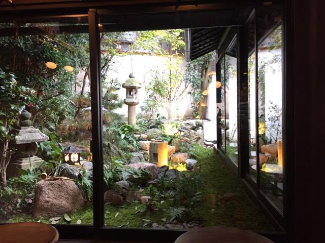 adorable garden in adorable coffee shop