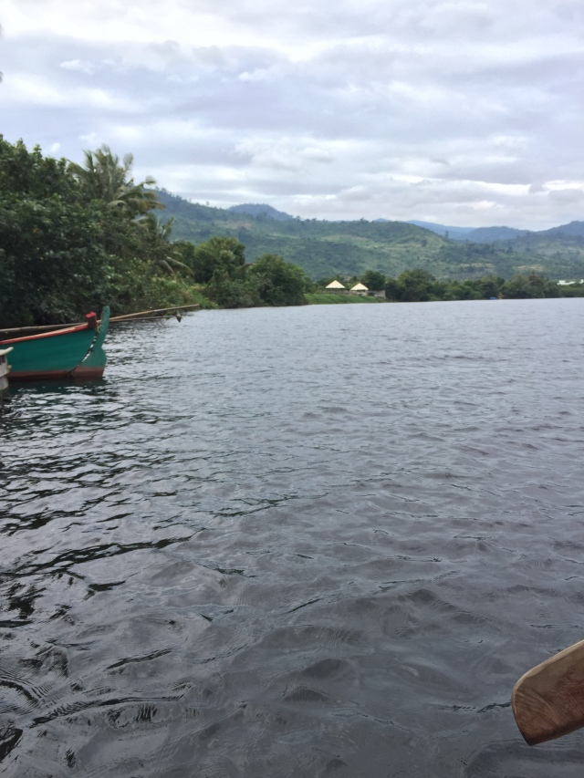 kampot river - right before I got yelled at