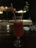 watermelon juice - complimentary:)