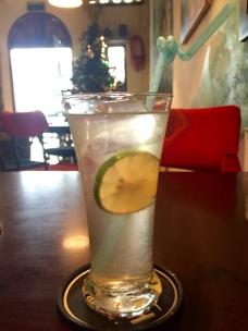lemon juice w/salt!