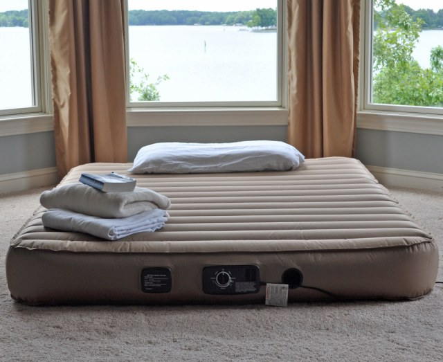 American (king-size, of course) air mattress