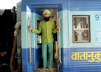 darjeeling train and 'chief steward'