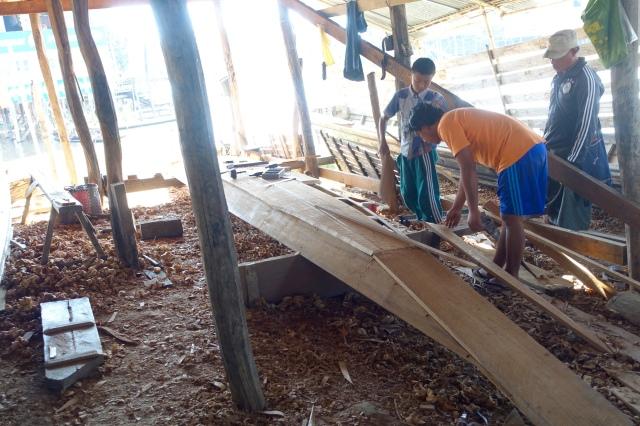 making long boat