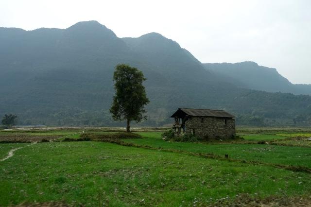 on the way to nayapul