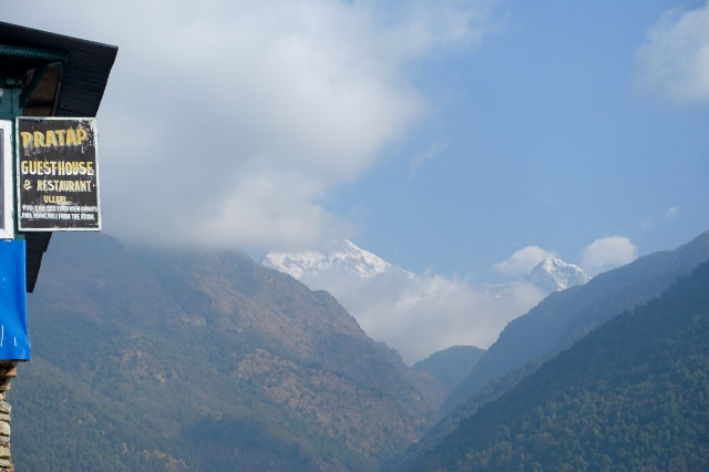 hellooo annapurna south(?) mountain!