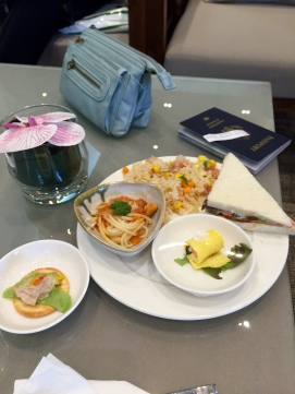 coral executive lounge food (bangkok)