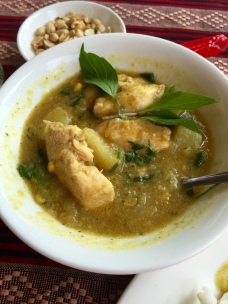 fish curry - myanmar