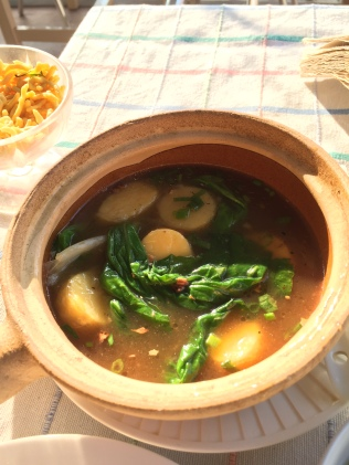 vege soup - myanmar