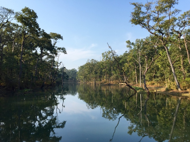 lake on hike