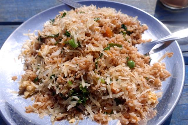 mountain fried rice:)