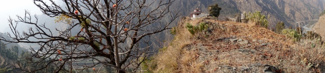 temple on the edge