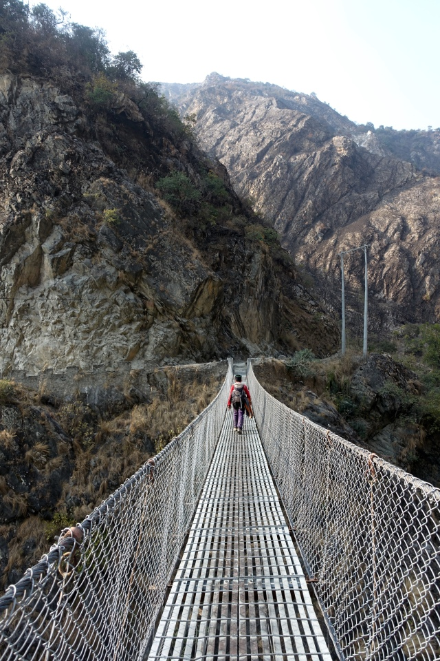 crossing the gorge