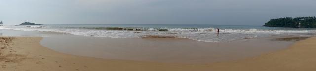 mirissa beach pano