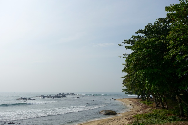 beach on end of fort