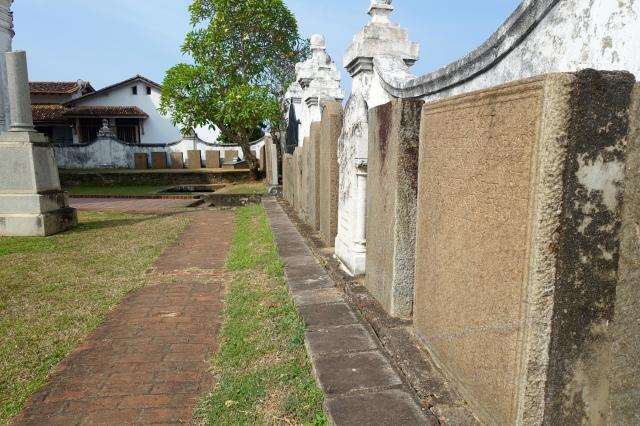 cemetery beside church