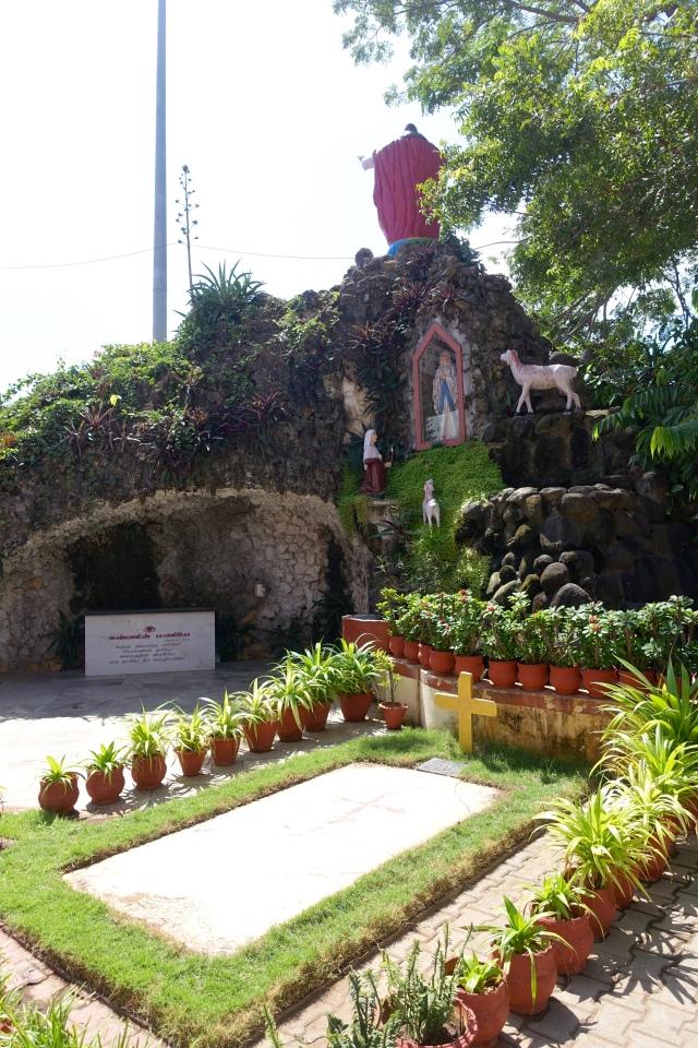 outside basilica