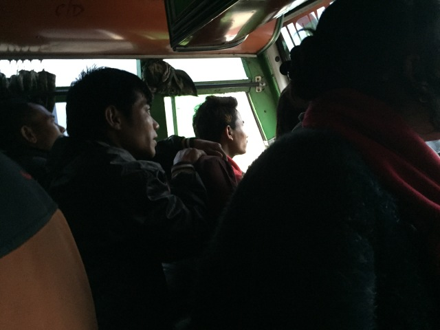 bus passengers