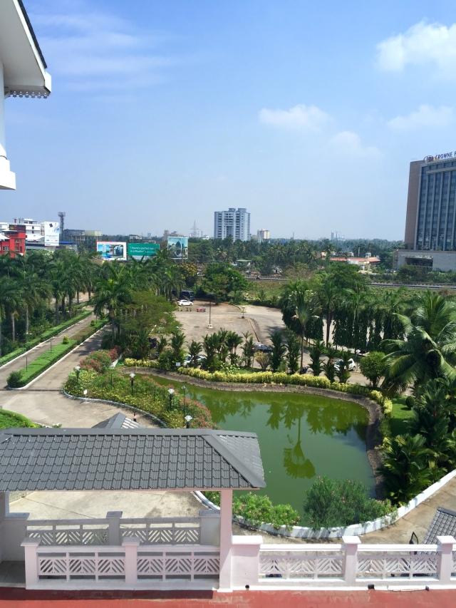 Kochi hotel view