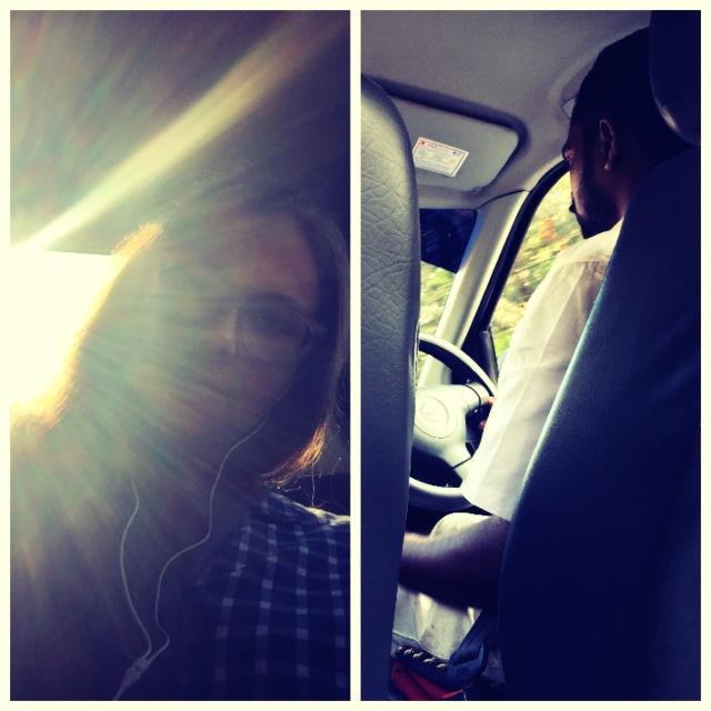 me & Sanju driver