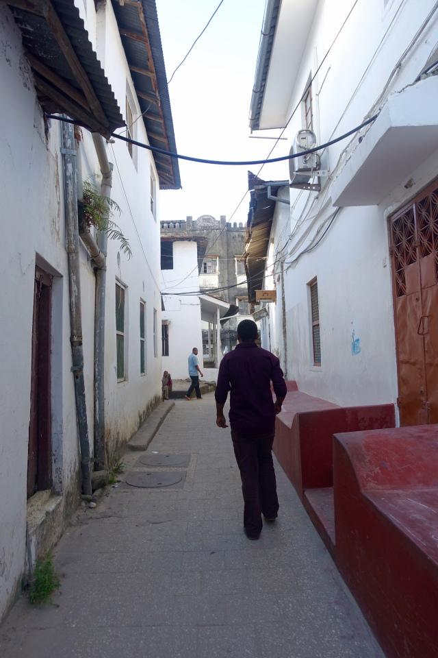 stone town street