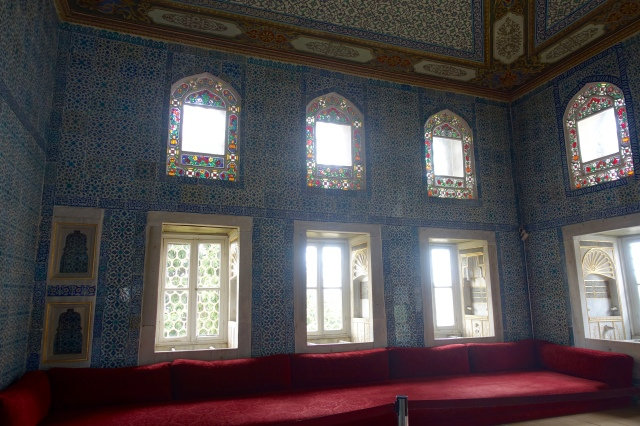 cool room, called circumcision room for obvious reasons, in the palace
