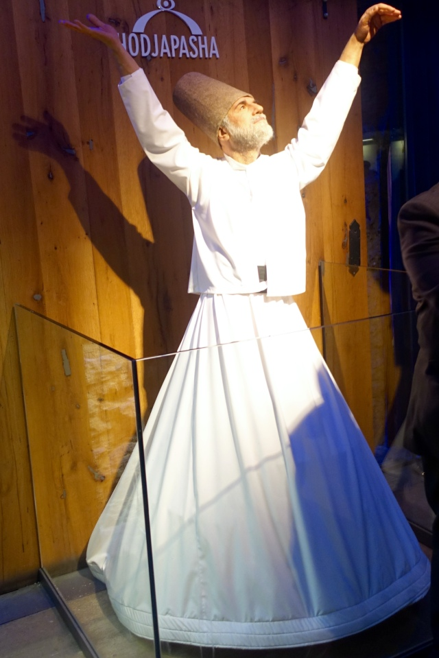 whirling dervish statue