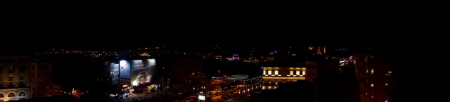 view from hotel across the bosphorus