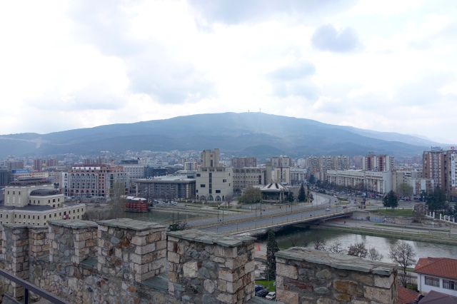 view from kale fortress