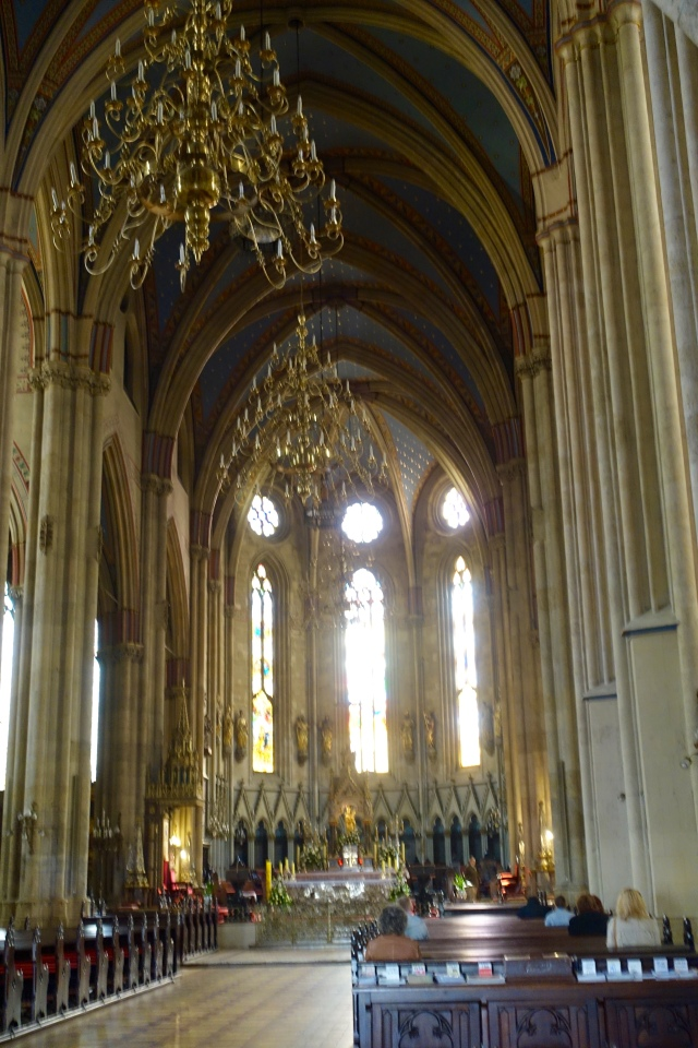 inside of cathedral