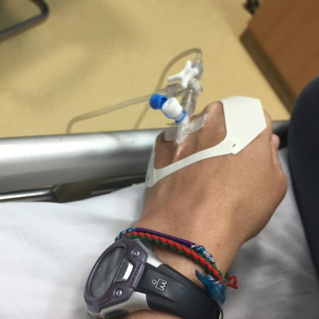my first ever IV