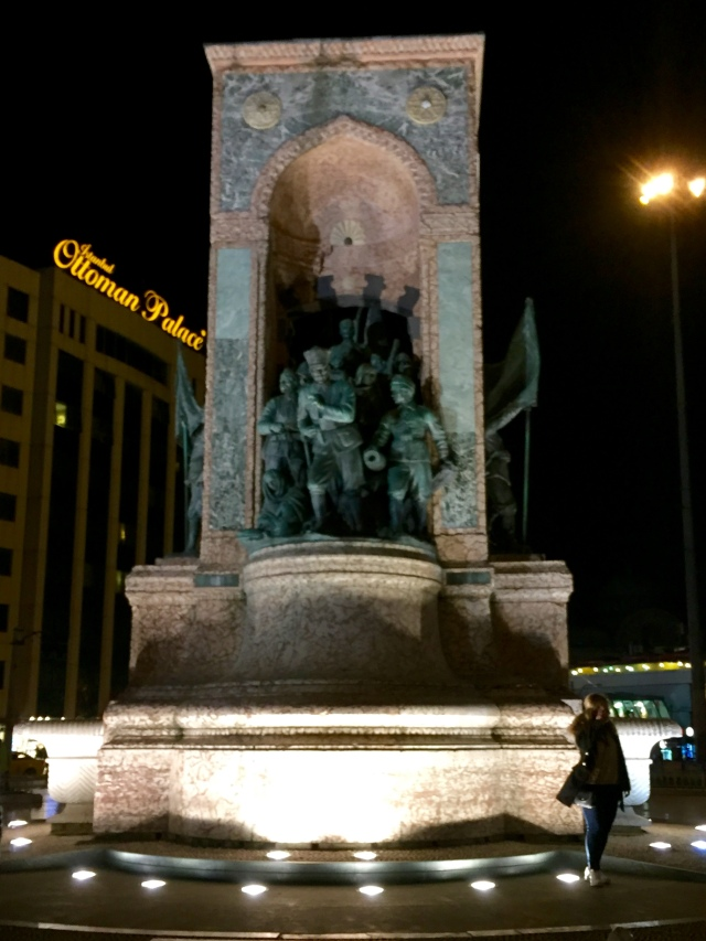 taksim square at night