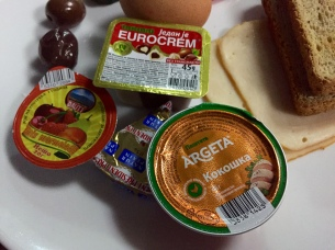 various spreads… ummm, I like the potted meat