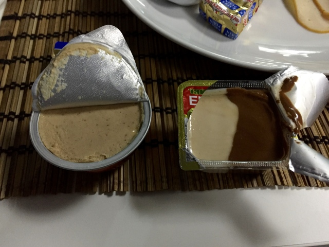 chicken pate & eurocrem = eastern european nutella?