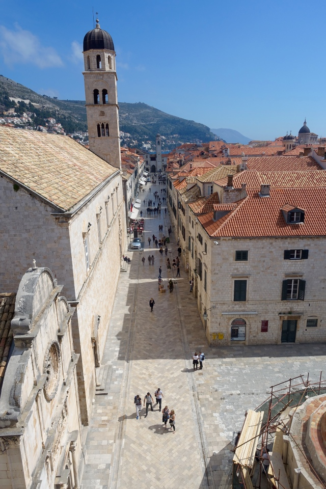 stradun from above