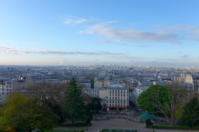 view from hill - Montmartre