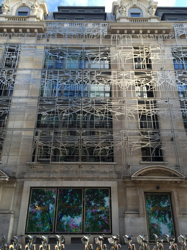 cool building siding design - by the louvre