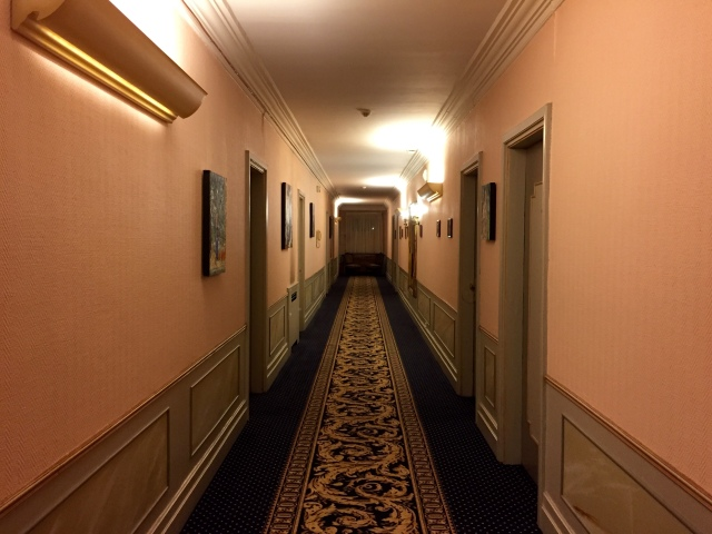 creepy hotel