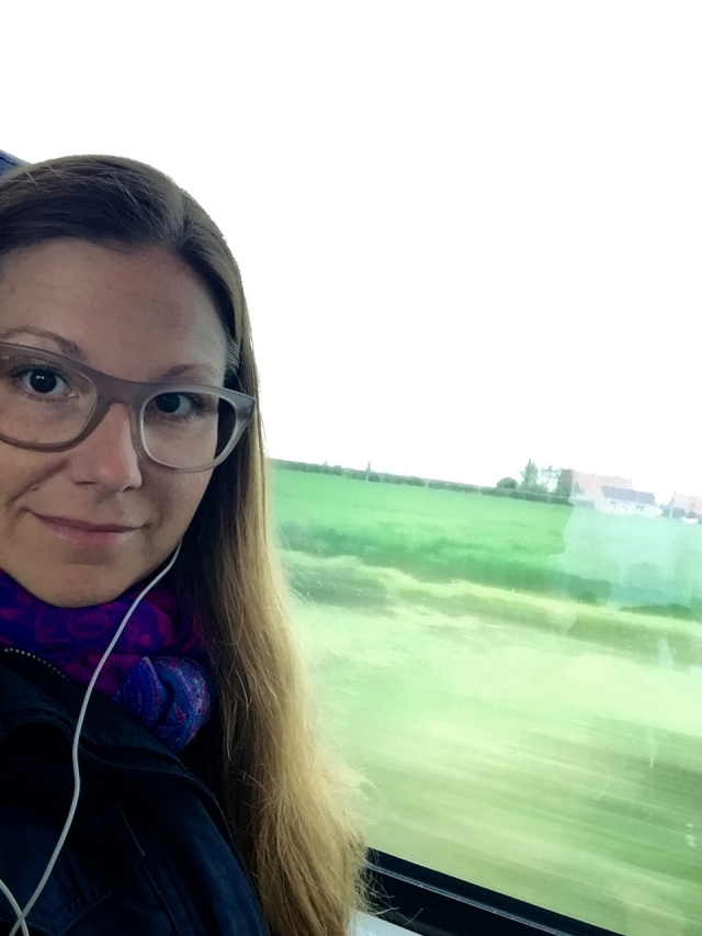 train to… belgium!